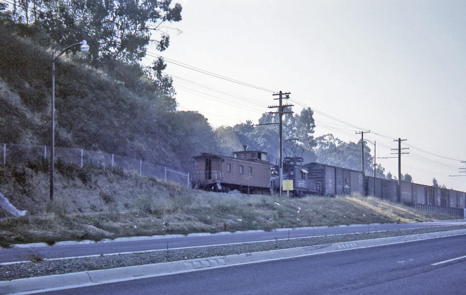 The Grade Crossing Exit and Entrance of Mountain Boulevard